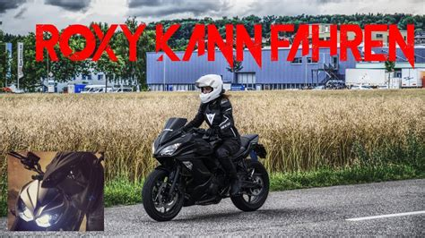 Motorrad Fahren Lernen by Kann Fahren Erstes Mal Kurven Fahren Motorrad