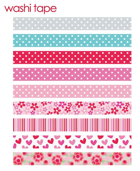 Washi Tape Designs | doodlebug design inc blog washi tape love