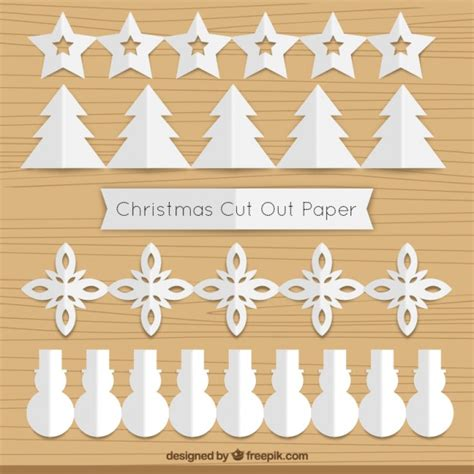 How To Make Garland Out Of Paper - cut out paper garland pack vector free