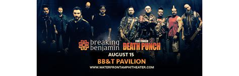 five finger death punch and breaking benjamin five finger death punch breaking benjamin tickets 15th