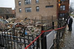 Chicago Apartment Collapse Two And Pit Bull Survive Explosion In Chicago