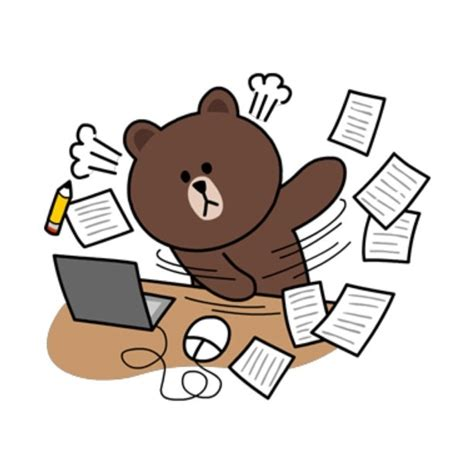 Brown Line Characters 18 best brown and cony images on cony brown line sticker and line friends
