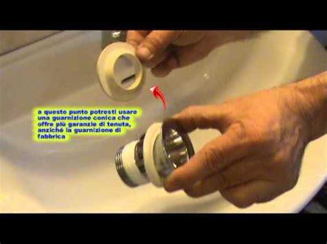 smontare piletta doccia come sostituire la piletta di scarico di un lavabo fai