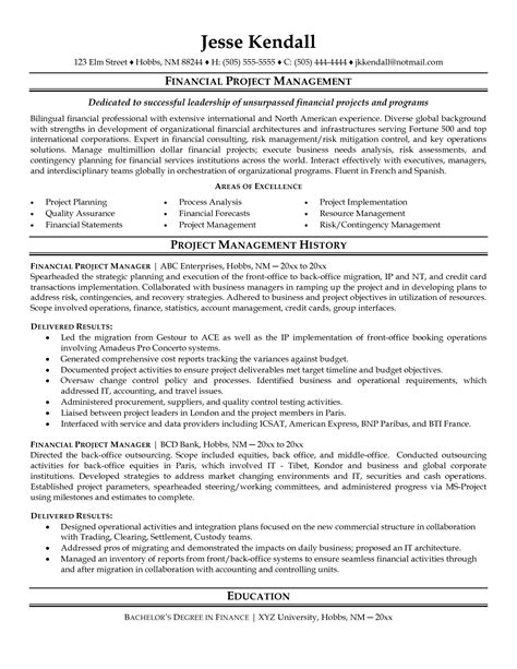 Sle Resume For Senior Management Position by Project Coordinator Resume Sle Cover Latter Sle