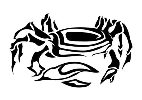 tribal cancer crab tattoo 5 cancer tattoos designs