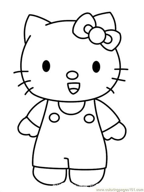 coloring pages printable hello kitty 5 ace images hello kitty drawings for kids coloring home