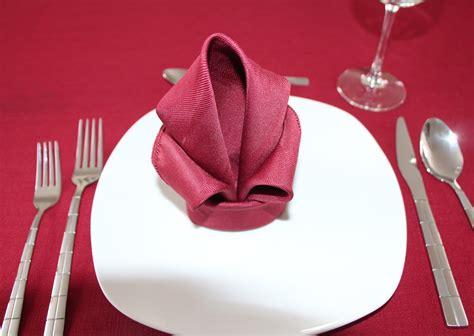 Paper Napkin Flower Folding - napkin folding flower www pixshark images