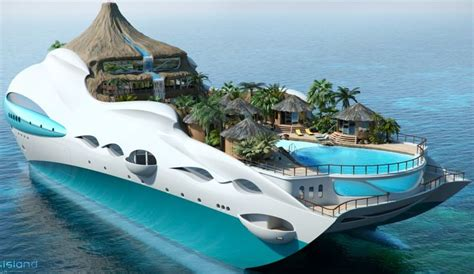 yacht island design tropical island yacht from cruise ship see more pictures