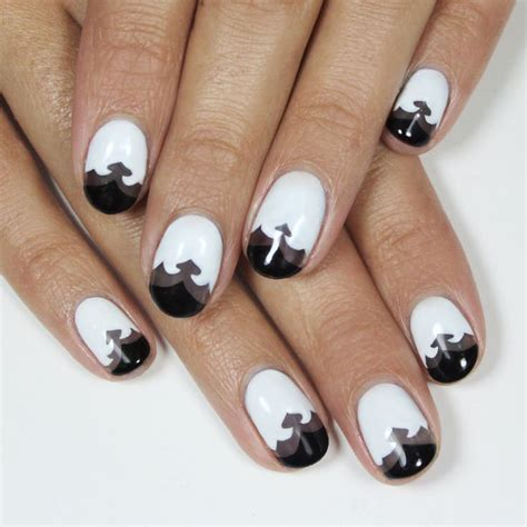 black and white pattern nails 45 black and white nail art designs ideas design trends