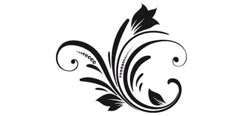 fiori stilizzati in bianco e nero rassegna sta