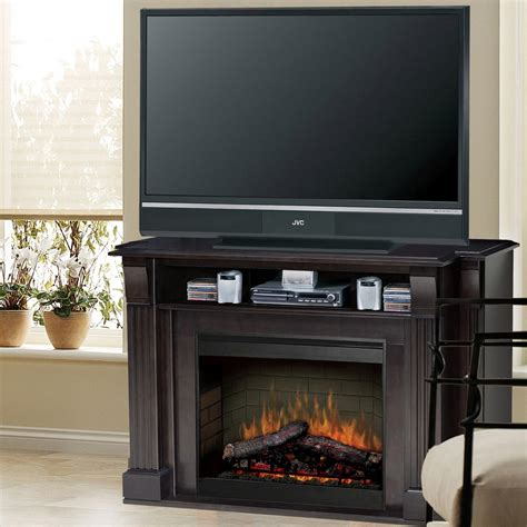 dimplex langley 55 inch electric fireplace media console