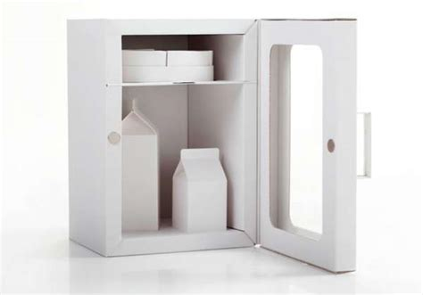 How To Make A Paper Refrigerator - paper refrigerator pitches cardboard fridge