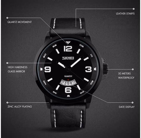 Jam Tangan Y43 High Quality skmei jam tangan analog pria 9115cl black