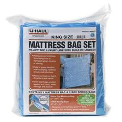 Mattress Bags For Moving by U Haul Moving Supplies Mattress Bag Set King