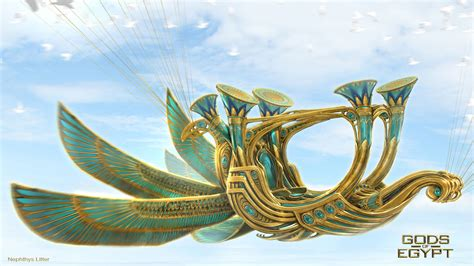 jeremy love art gods of egypt