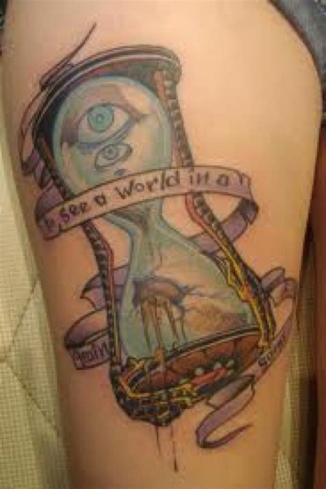 hourglass tattoo meaning 90 creative hourglass tattoos with meaning photos and