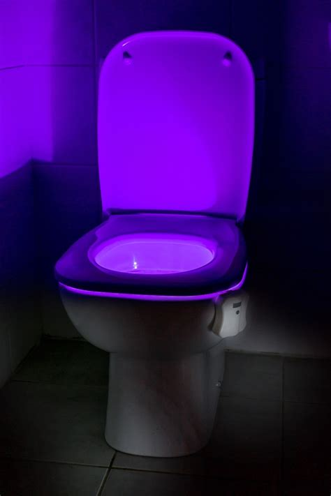 led toilet bowl light auraglow led motion activated toilet bowl light