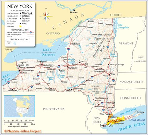 new york map 100 nys map the new york state center for rural