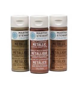 martha stewart metallic acrylic craft paint 2 ounces jo ann