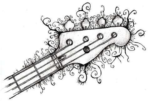 Cool Easy Things To Draw With Sharpie by Drawing Bass I Am Gangsters And Things To