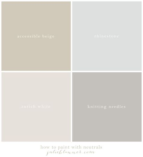 our neutral paint palette beautiful paint colors and paint palettes
