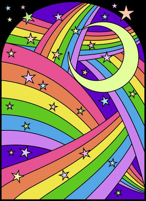 rainbow star coloring page 17 best images about color anyone on pinterest