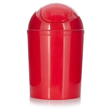 red swing bin asda red swing lid bin bins asda direct