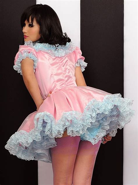 bee bee satin sissy dress felicia sissy dress sissy accepting her place