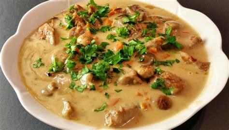 recette de cuisine blanquette de veau mariatotal blanquette de veau traditionnelle