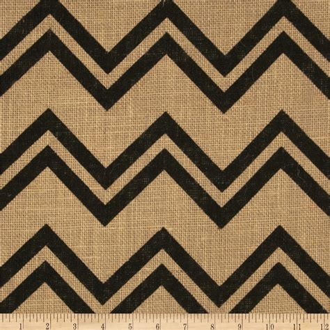 burlap chevron curtains printed burlap chevron discount designer fabric fabric com