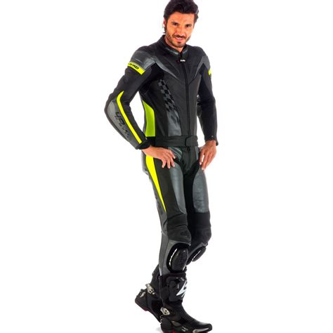 motorcycle leather suit spyke 4race div men motorcycle leather suits 4race div