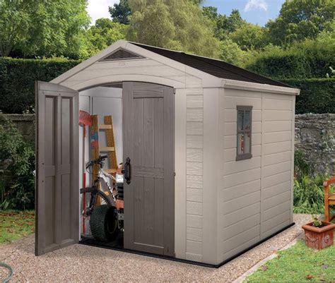 Plastic Outdoor Sheds by Keter Factor 8 X 8 Shed Ofc88 2 089 00 Landera