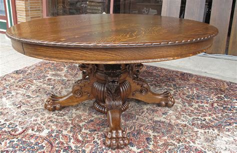 oak clawfoot table for sale hastings antique oak dining table with and claw