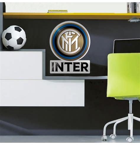 Stiker Set Intermilan fc inter milan wall sticker maxi logo for only 163 17 53 at merchandisingplaza uk