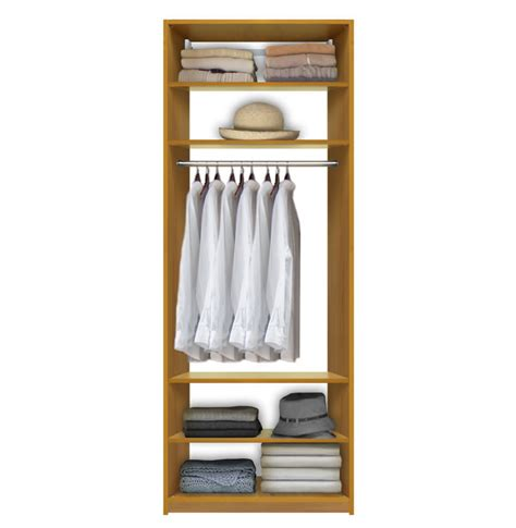 isa custom closet system center hanging 4 adjustable