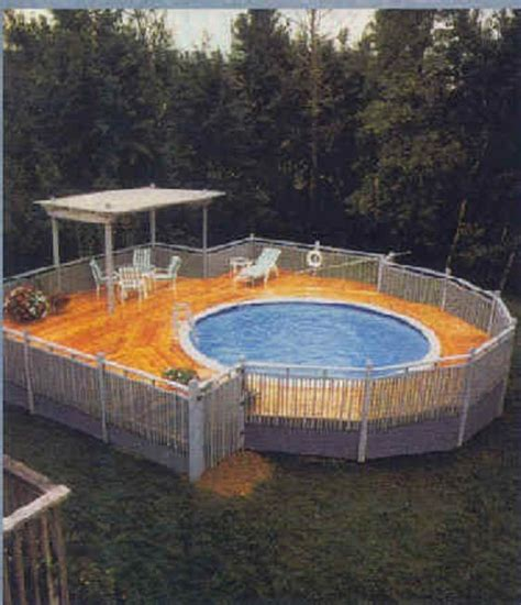 cheap pool ideas how to create a simple deck pictures easy and cheap ways
