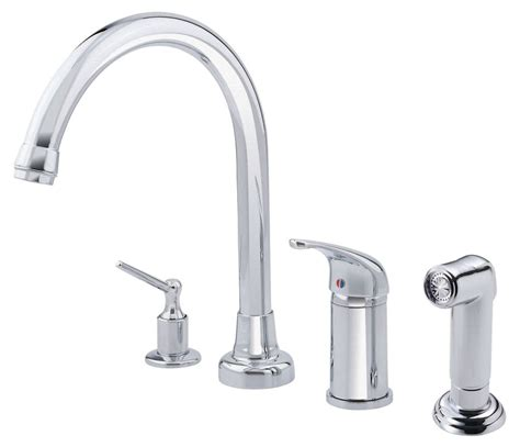 danze kitchen faucets danze d409112 chrome kitchen faucet includes side spray
