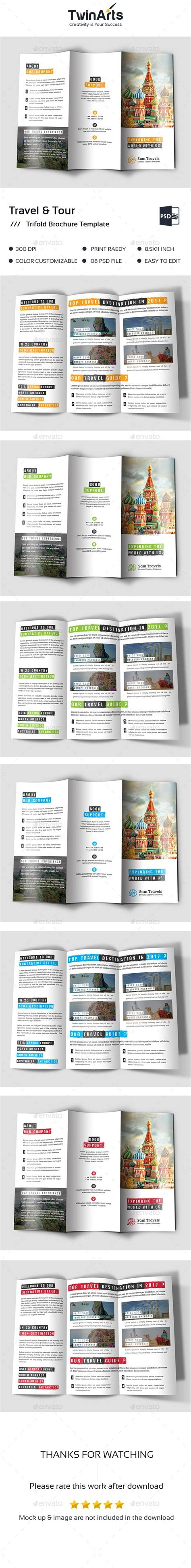 17 best ideas about travel brochure template on pinterest