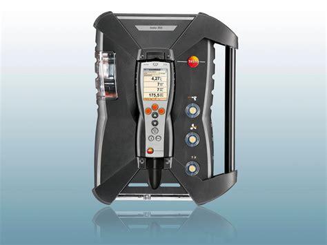 help testo emission measuring device help with emission measurement