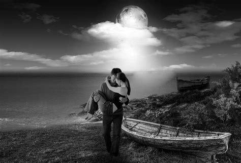 imagenes romanticas en blanco y negro fondo escritorio blanco y negro enamorados