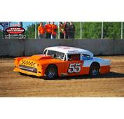 55  Chevy Dirt Track Race Car Vintage Racing