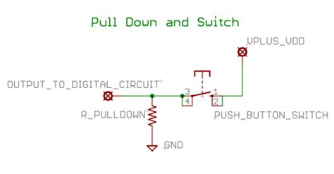 pull up resistor relay basic circuit building blocks opencircuits