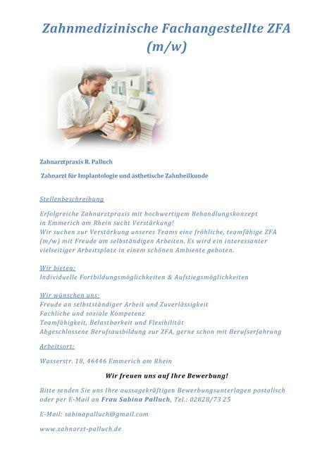 Bewerbung Zahnarzt Stellenangebot Romuald Palluch Zahnarzt F 252 R Implantologie Und 228 Sthetische Zahnheilkunde 46446