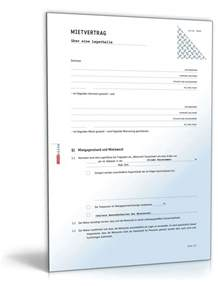 Muster Mietvertrag Mietvertrag Lagerraum Rechtssicheres Muster Zum