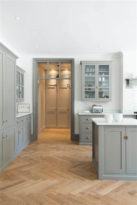 wood kitchen floors design trend herringbone wood floors the house