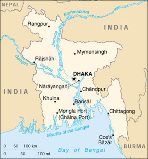 bangladesh cia map