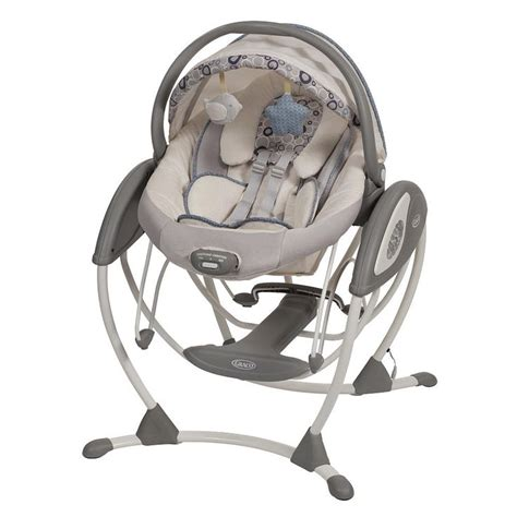 baby glider swing quot mini quot swing and bouncer graco glider elite swing