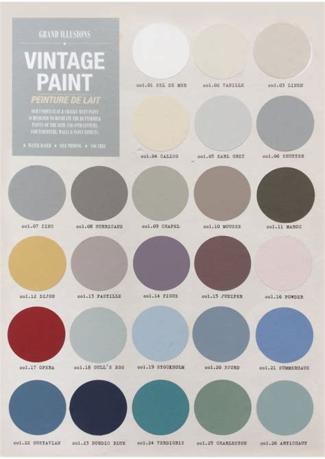 scandinavian colours new chalk paints the english home