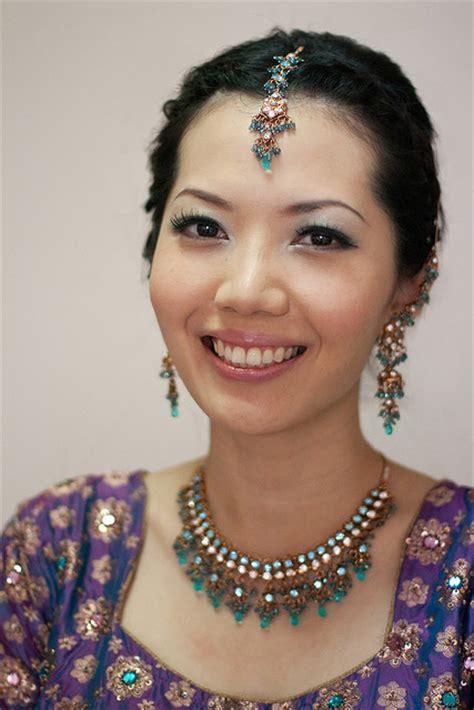 bridal hairstyles singapore indian makeup services singapore saubhaya makeup