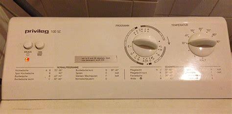 privileg waschmaschine kundendienst bedienungsanleitung waschmaschine privileg 100 sc